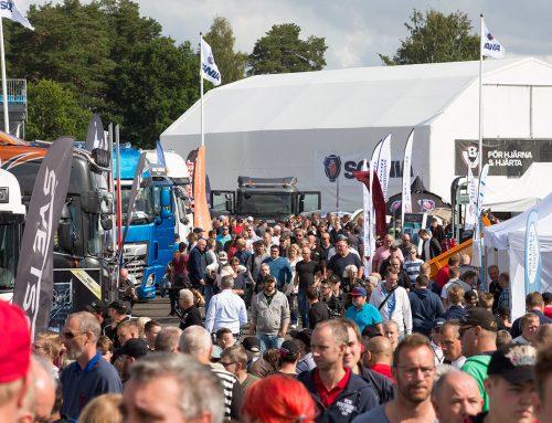 Trucking Festival med rekordstor branschutställning