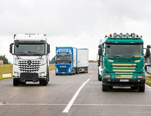 Volvo, Scania, MAN, DAF och Mercedes på plats!